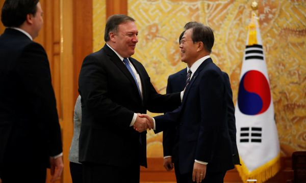 Pompeo says North Korea sanctions to remain until complete denuclearization