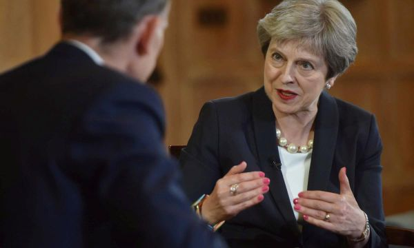 May says need to ensure parliament does not overturn Brexit
