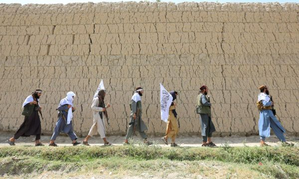 Taliban, roaming Afghan cities amid Eid euphoria, say ceasefire ends at midnight