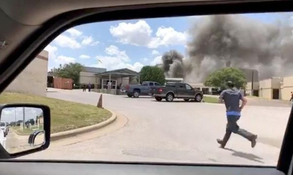 Four injuries reported in Texas hospital blast