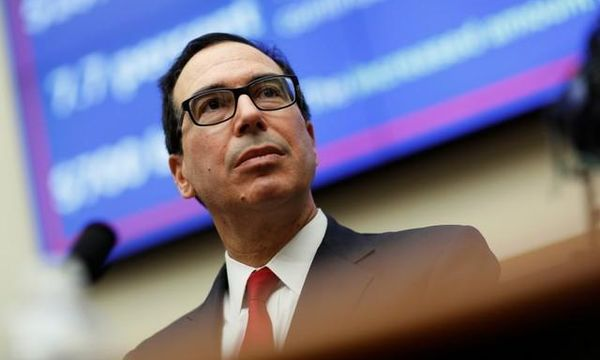Mnuchin says U.S. will consider some waivers on Iran sanctions