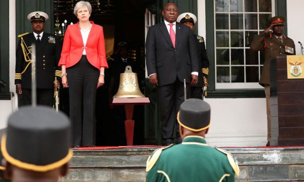 Britain will use aid budget to boost trade in Africa - PM May