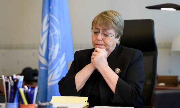 Bachelet takes on China, EU, U.S. and Saudi-led coalition in first speech