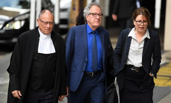Geoffrey Rush tells court he was 'numb' after misconduct allegation published