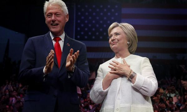 Explosive device found in mail sent to the Clintons: NYT