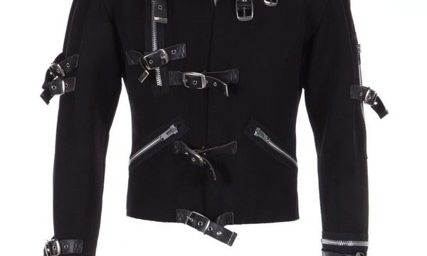 Michael Jackson's 'Bad' tour jacket sold at auction