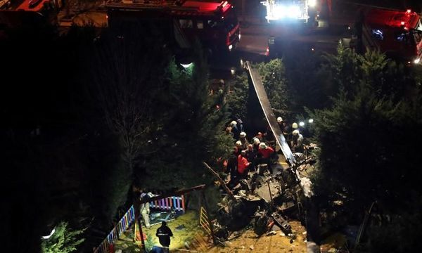 Four soldiers killed in helicopter crash in Istanbul: city governor