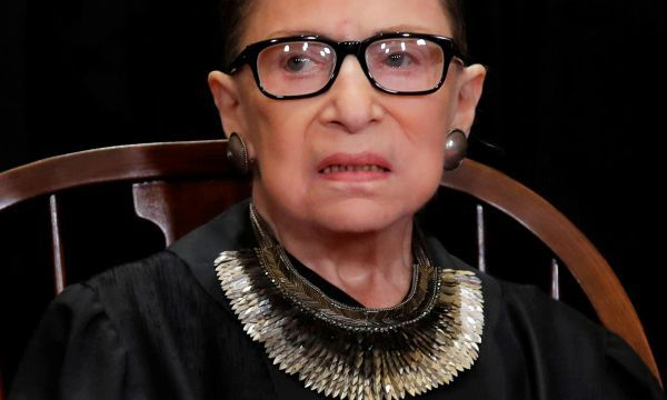 Supreme Court Justice Ginsburg back at court after cancer bout
