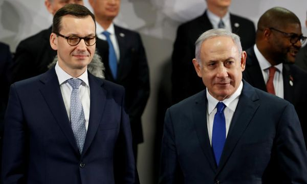 Polish PM cancels trip to Israel in wake of comments on Poles in Holocaust