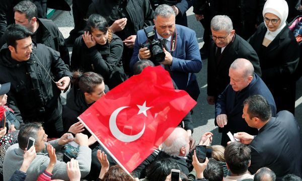 Erdogan's AKP leads in Istanbul, Ankara in Turkish local elections