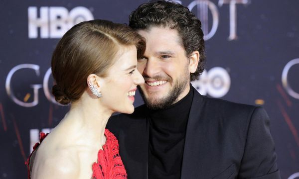 Souvenirs and secrets as 'Game of Thrones' cast walk last red carpet