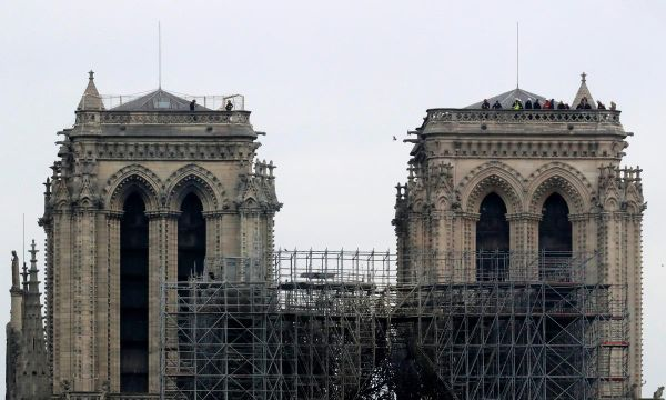 No sign of arson in Notre-Dame blaze as nation grieves for symbol