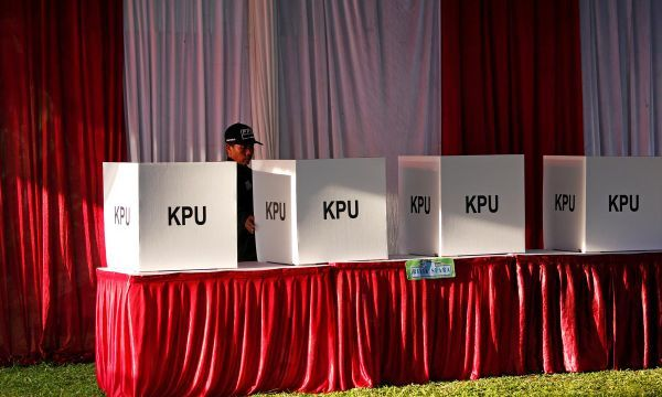 In world's biggest one-day election, Indonesia votes for its president