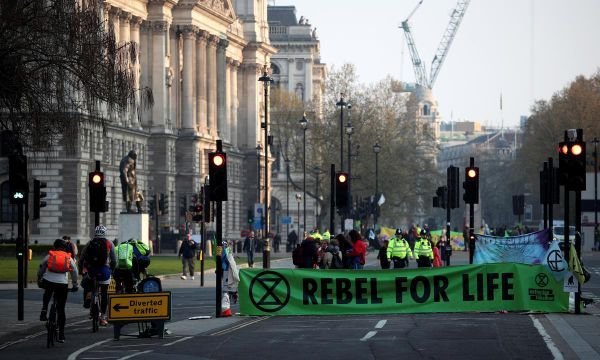 London braces for rail disruption by climate-change protesters