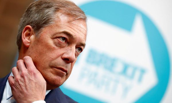 Farage's Brexit Party to top EU elections in Britain - poll