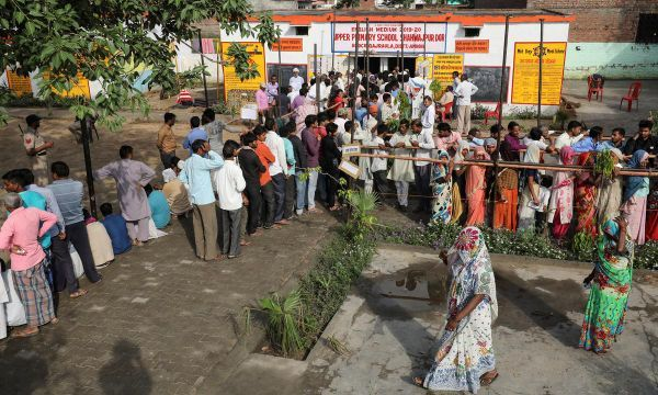 Sporadic violence as millions vote in second phase of India's mammoth election