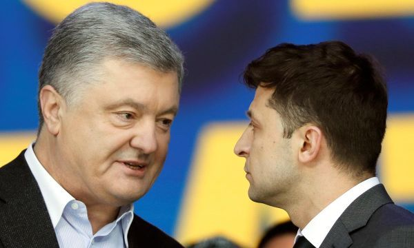 Ukrainian presidential candidates trade insults in final debate