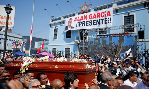 Peru ex-president leaves cadaver as sign of 'contempt' for his enemies: suicide note