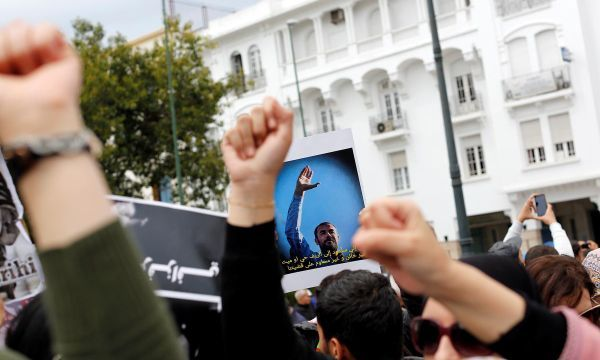 Thousands protest in Morocco demanding release of jailed activists