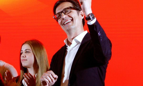 Macedonian pro-Western, nationalist candidates tied in presidential vote