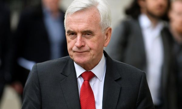Fight to replace PM May complicating Brexit talks - Labour's McDonnell