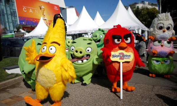 'Angry Birds' fly to Cannes for movie sequel