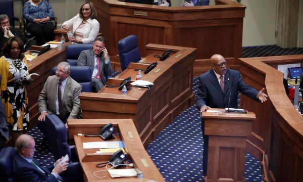 Alabama Senate debates bill banning nearly all abortions