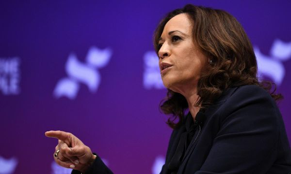 Senator Harris to promise ban on U.S. imports of some high-powered guns