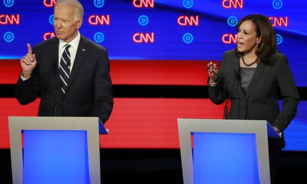 Democratic candidates attack Trump as Democratic presidential debate opens