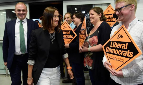 Pro-EU Liberal Democrats win parliamentary seat from Johnson's Conservatives